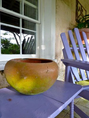 Golden Spring - Purple Table   Graham Davis Paintings
