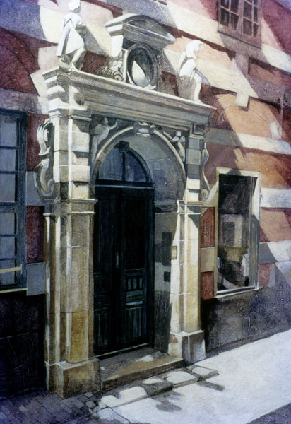 Ornate Stockholm - Painting Archive | Graham Davis Paintings