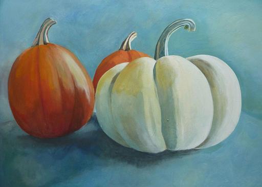 Thanksgiving Pumpkins - Painting Archive | Graham Davis Paintings